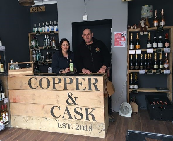 Priti welcomes new shop to Coggeshall