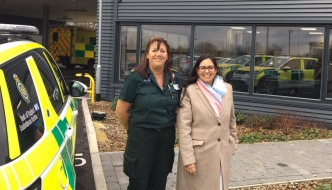 Witham MP welcomes funding for ambulance service