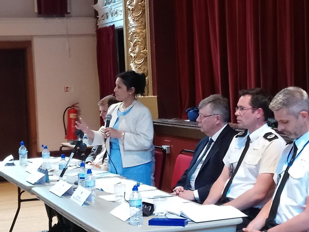Support for Police Base in Witham at Public Meeting