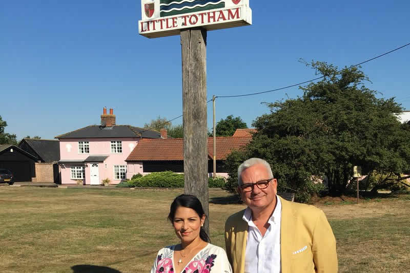 Priti launches Little Totham road survey