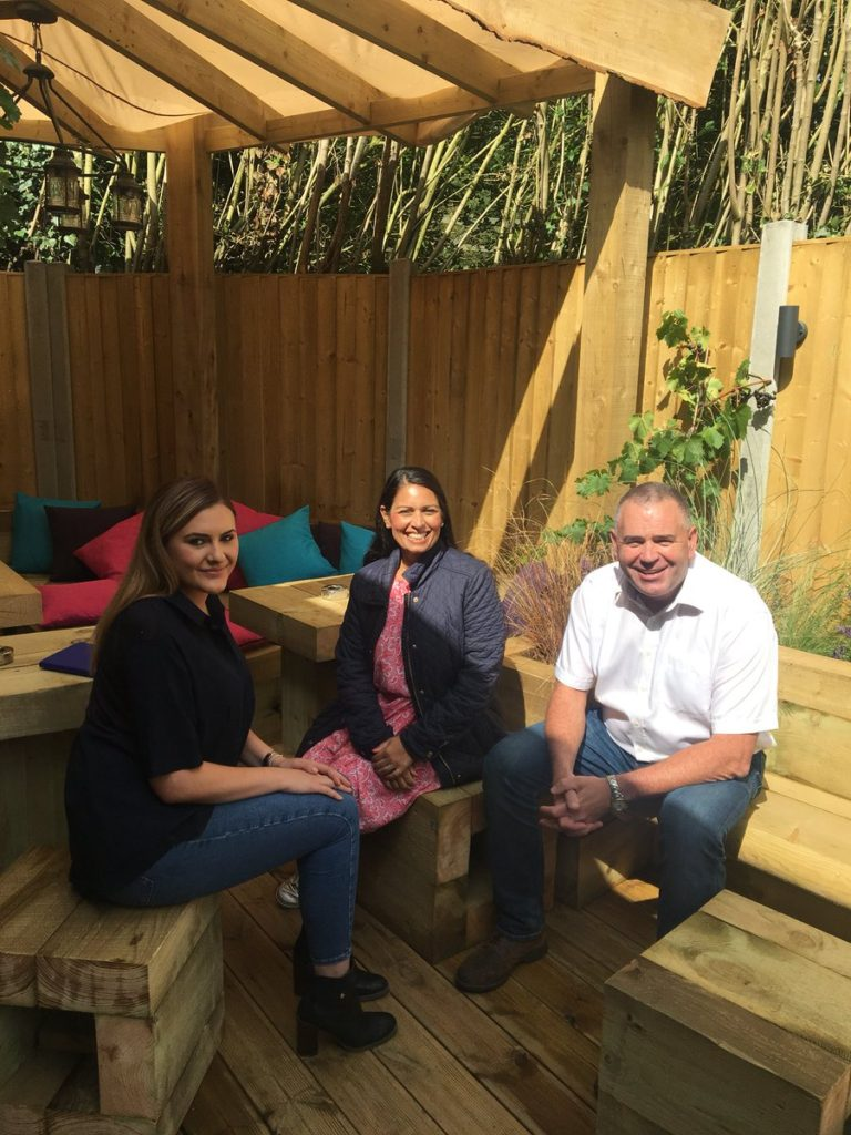 Priti visits refurbished Vine Inn