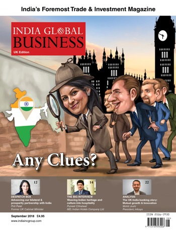 Priti writes in India Global Business on future UK-India partnership