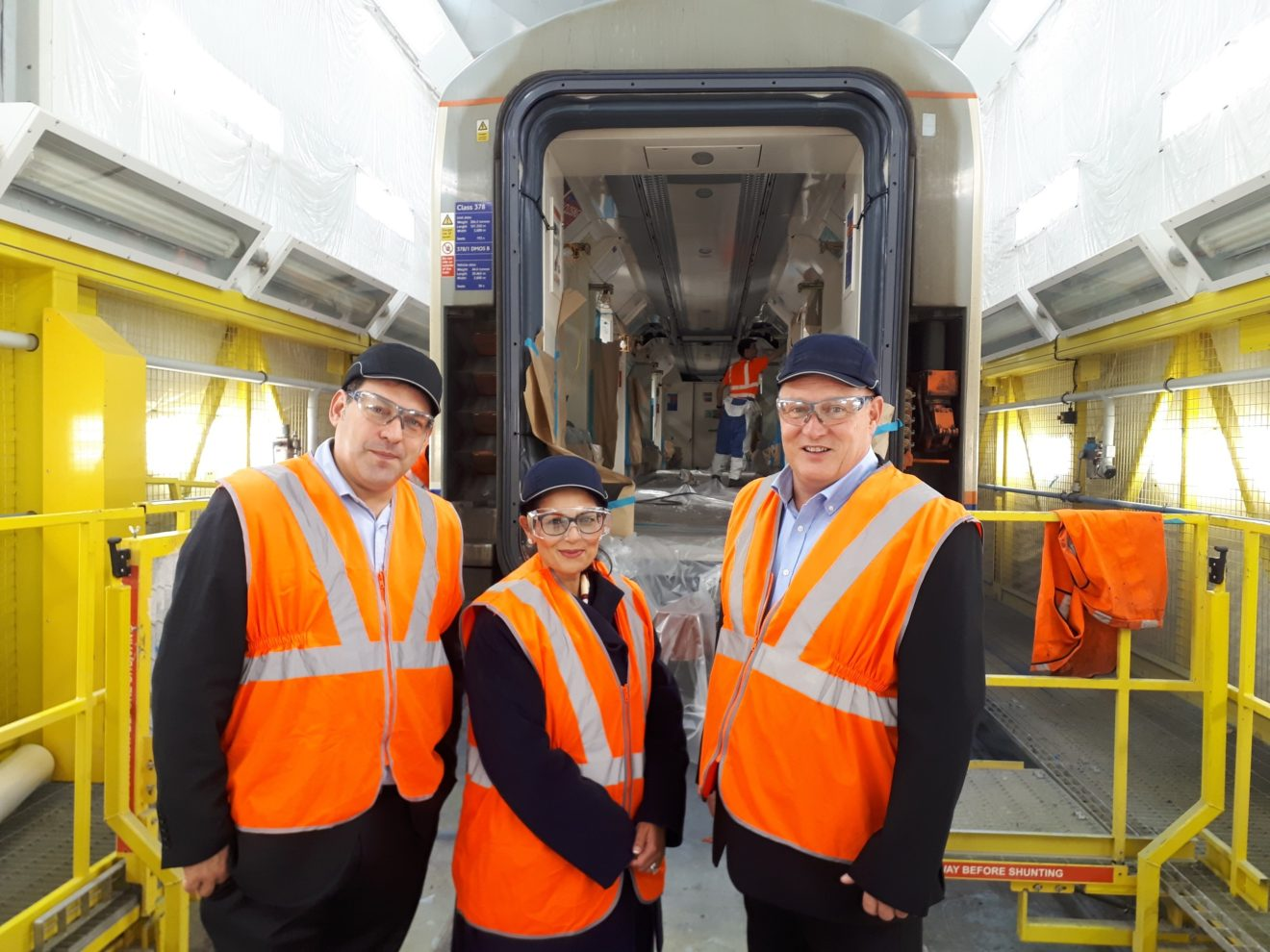 Priti Patel becomes latest Rail Fellow after hands-on day on rail site