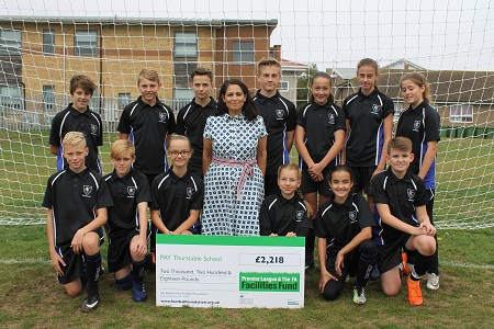 Rt Hon. Priti Patel MP delighted as Thurstable School scores funding