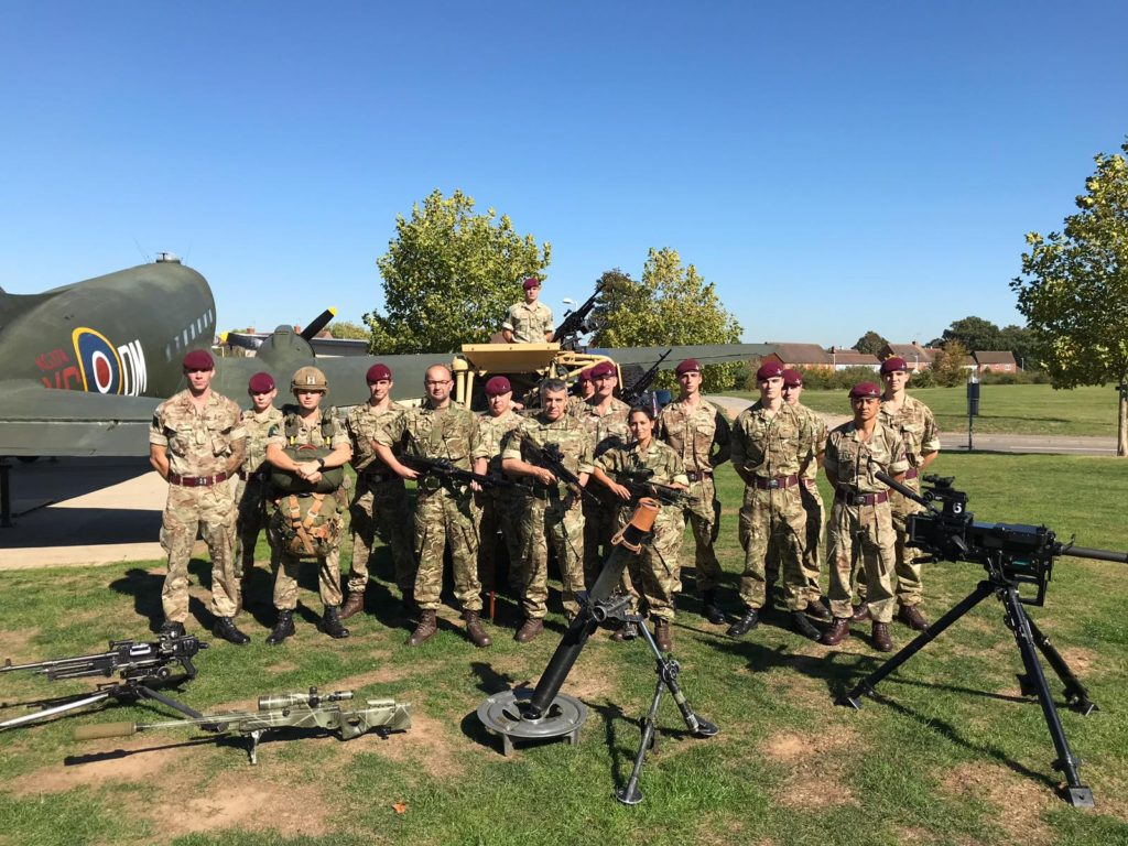 Priti visits phenomenal 16 Air Assault Brigade