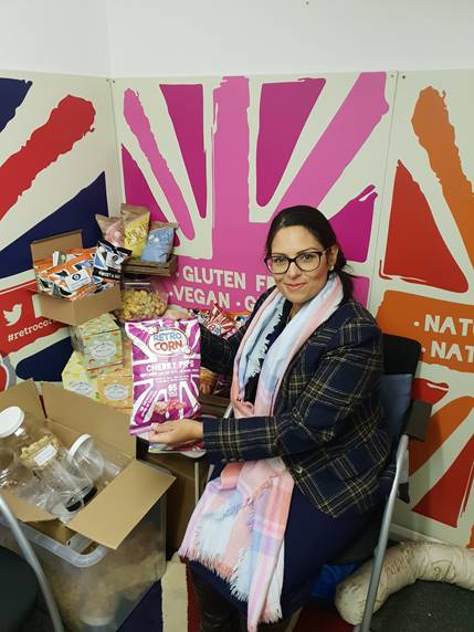 Priti Patel MP pops into outstanding local business in Witham