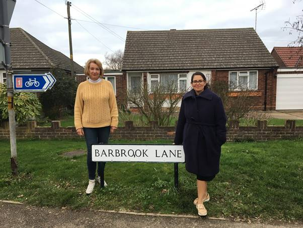 Priti welcomes Barbrook Lane refusal