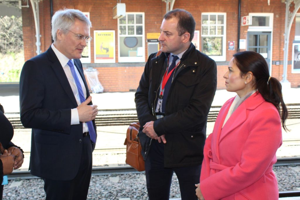 Priti Patel MP welcomes launch of Delay Repay 15 on Greater Anglia Trains