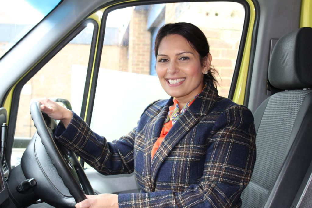 Priti Patel's message to our NHS heroes