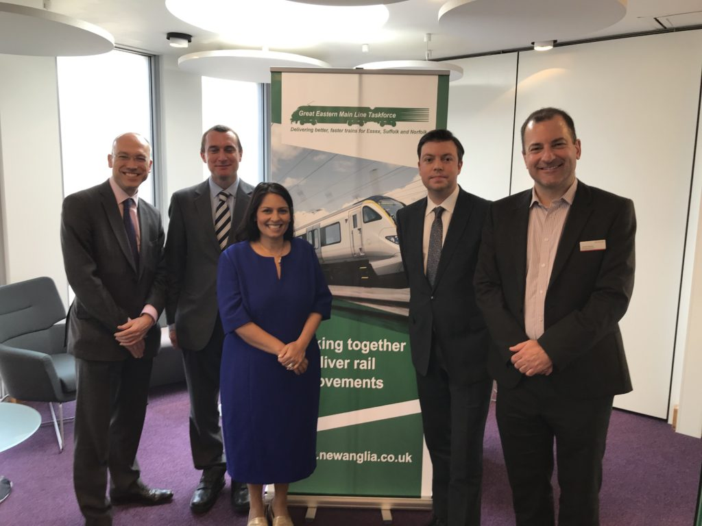Regional transport conference chaired by Priti Patel MP outlines route to major Government investment in GEML