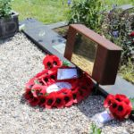 The special plaque with the names of servicemen from Little Totham