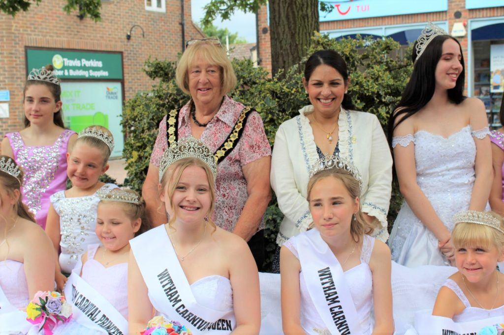 Witham Carnival Queen 2019 is crowned