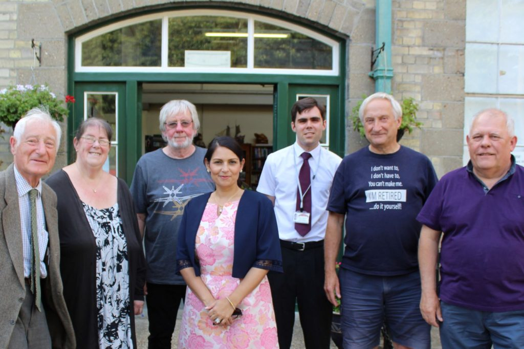 Trustees confirm Priti Patel as Patron of Maldon's Museum of Power