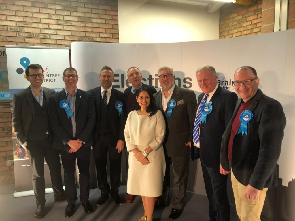 Priti Patel thanks voters for her fourth General Election victory