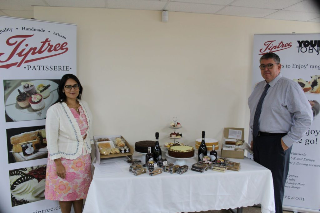 Witham MP visits Tiptree Patisserie for discussion of post lockdown issues for small businesses