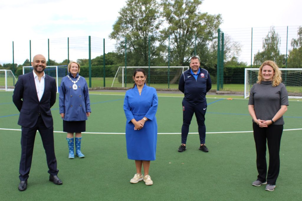 Witham MP drops in on Summer Activity Club