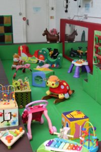 Junior play area at Pickles Playhouse