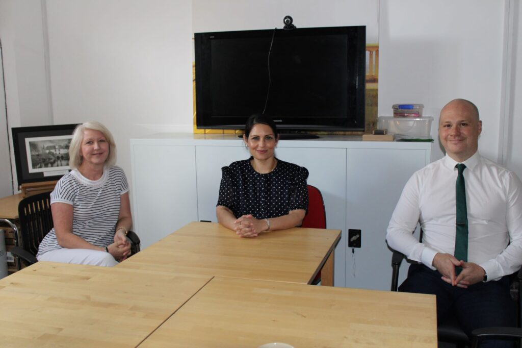 Priti meets head of new special needs school opening in Witham in September