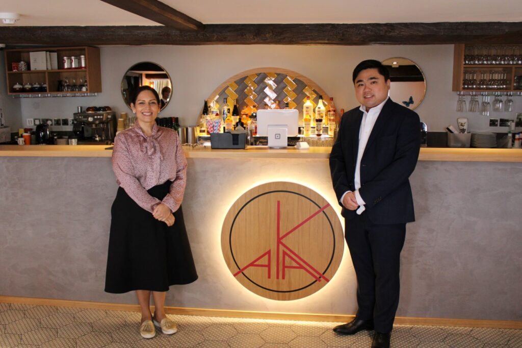 Priti calls in to see the new AKA Restaurant & Lounge