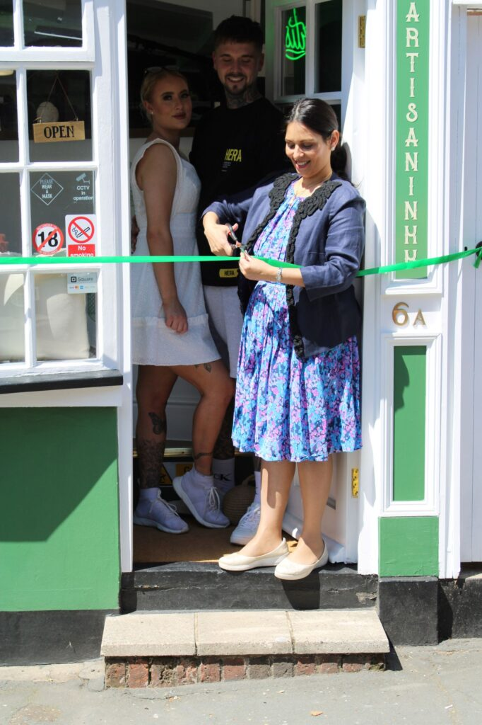 Priti opens Coggeshall's first and only Tattoo Shop